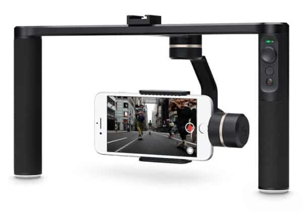 gimbal featuring two grips