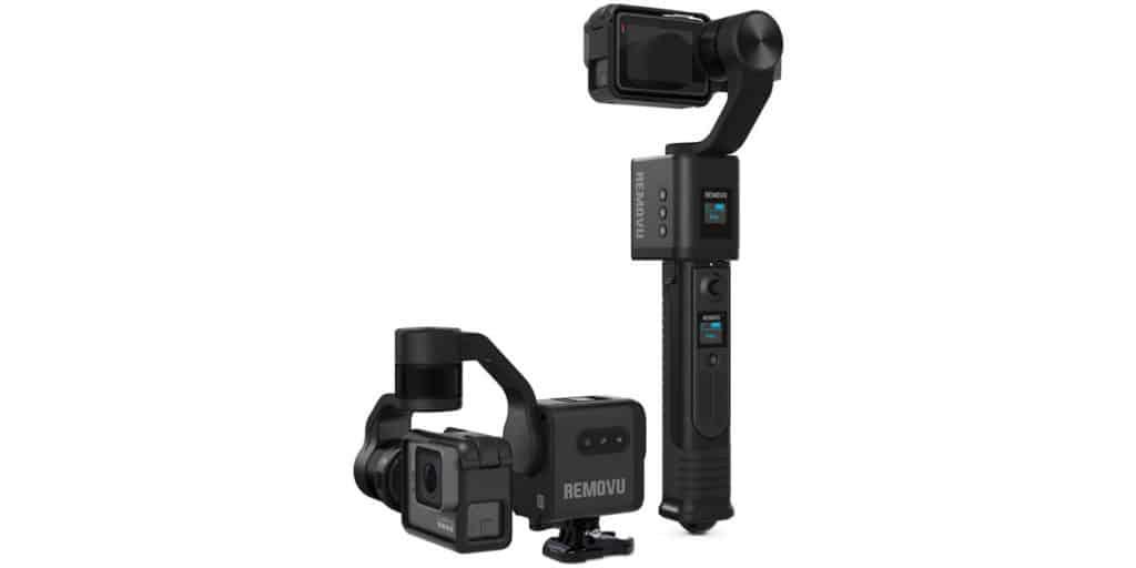 Removu S1 gimbal for GoPro