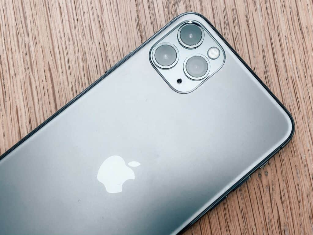 photo of an iPhone 11 pro max