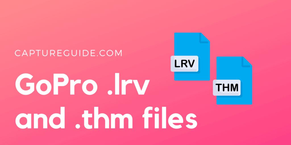 gopro lrv thm file cover image